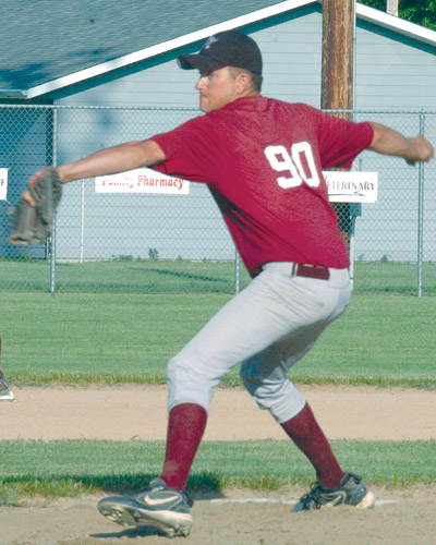 Jesse Brown had a big game for the Cardinals during their 11-5 win over Aberdeen Circus Sports Bar in Aberdeen on Wednesday. Brown pitched a complete game for the win, while leading the offense with three hits.