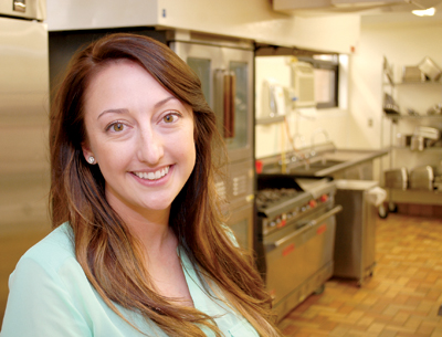 Danielle McCollam is the dining services manager at Golden LivingCenter. Part of her job involves overseeing kitchen staff but at home the kitchen is where she gets to bake desserts.