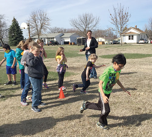"St. Jacobi and Zion Lutheran Churches held ""An Easter for Kids"" event on Saturday, April 8 at the church. Those attending heard the story of the resurrection of Jesus, did crafts, played games and had an Easter Egg hunt. More than 40 kids from the area joined in for the fun."